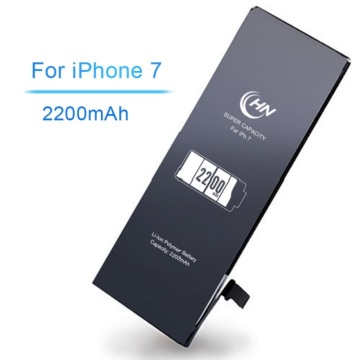 Super high capacity 2200mAh iphone 7 battery