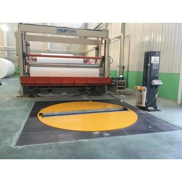Fully automatic Fabric roll wrapping machine