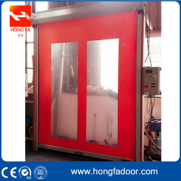 High Speed Roller Shutter Door with Self-recovery Function