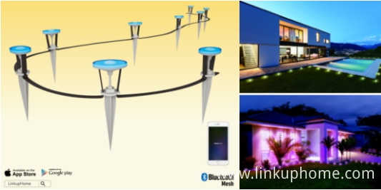 smart mini outdoor garden solar light