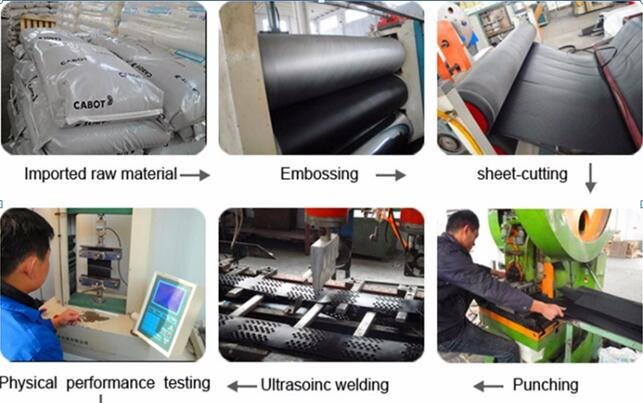 production process--grocell