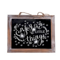 Garden decoration Framed hanging Kitchen Chalkboard 3.8*9.5 inch Decorative Chalk Board for Rustic Wedding Signs