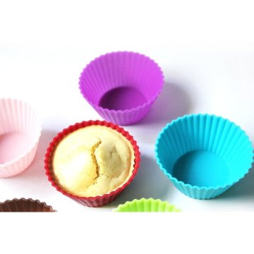 Reusable Round Mini Muffin Cups 12pack