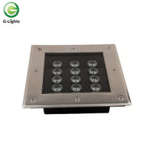 Square Design 12watt LED Underground Light
