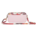 Long strap small candy color crossbody wallet set