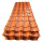 prepainted color glazed tile roof price philippines