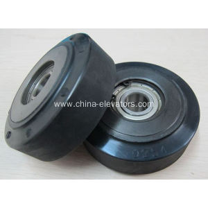 Hitachi Escalator Step Roller with TWO bearings 80*29*6202