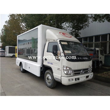 P8 Mobile LED Display Advertising Vehicles