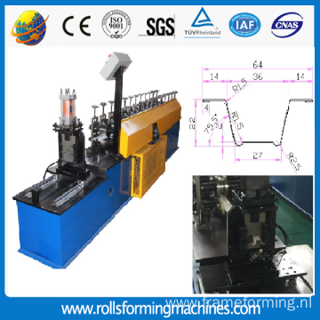 Drywall Metal Profile Making Machine Omege Shaper Roll Formers