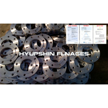 Flange Plate Slip on Raised Face Steel S235JR