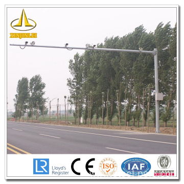 China for Traffic Signal Lighting Steel CCTV Traffic Camera Poles supply to Svalbard and Jan Mayen Islands Supplier