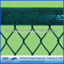 Top for Chain Link Fence Panels Decorative Chain Link Mesh For Fireplace supply to Russian Federation Suppliers