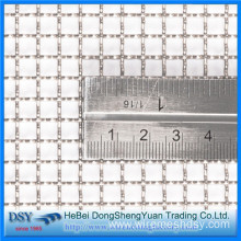 Square Decorative Stainless Steel Woven Crimped Wire Mesh