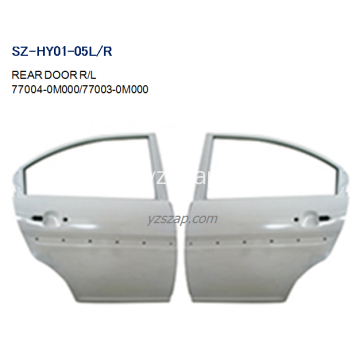 Steel Body Autoparts HYUNDAI 2006 ACCENT REAR DOOR