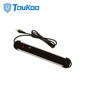 OEM China High quality for Power Strip With Surge Protector Surge protection USB ports American electric extension bar export to Russian Federation Factories