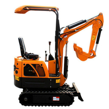 Mini tractor with backhoe 0.8T With Rubber Track
