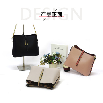Ladies Casual PU Leather Sling Bag