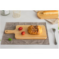 Rectangle wooden tray beech wood food serving boards wholesale