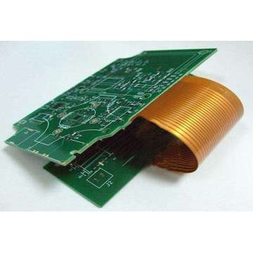 4 strato materiale rigidu di pcb flex