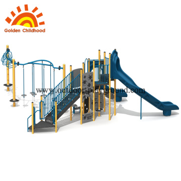 Outdoor Play structure gym children combination slide
