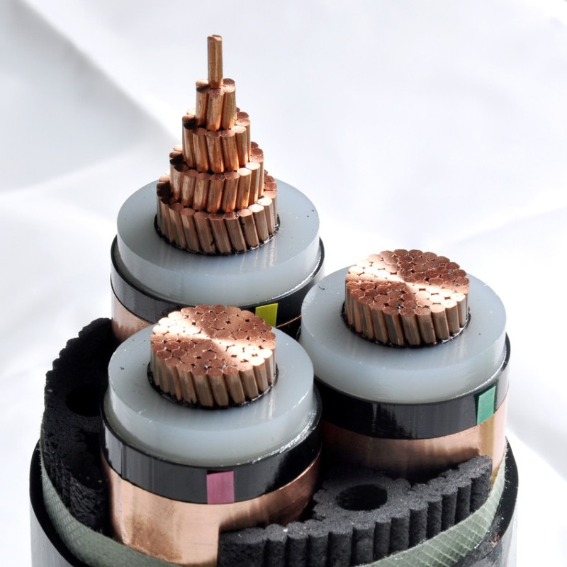 20KV 3X240SQMM COPPER CONDUCTOR CABLE