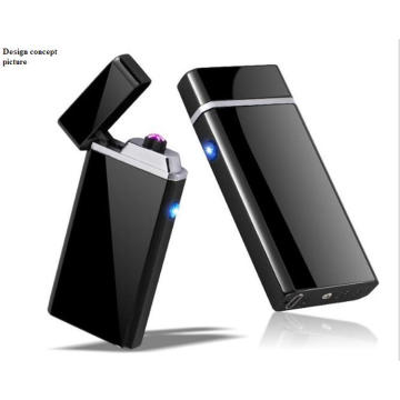 Electric cigarette lighter Windproof Metal USB