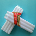Paraffin Wax  White Color pillar candle