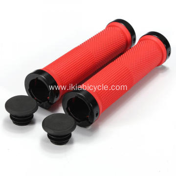 Red Color Handlebar Grips for Mountain Bike
