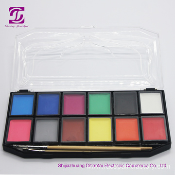 Hypoallergenic Face Body Paints Kits Palette