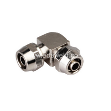 Twist Right Angle PV Brass Joint Fittings