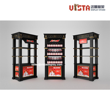 Beer Store Promotion Display Stand Racks