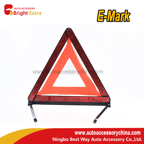 Car Vehicle Emergency Breakdown Warning Sign Triangle Reflective Road Safety Foldable Reflective Road Safety Red