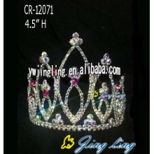 Custom rhinestone cheap crowns tiara wholesale