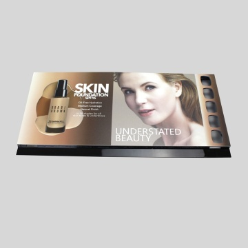 Apex colorful  acrylic kiosk cosmetic display