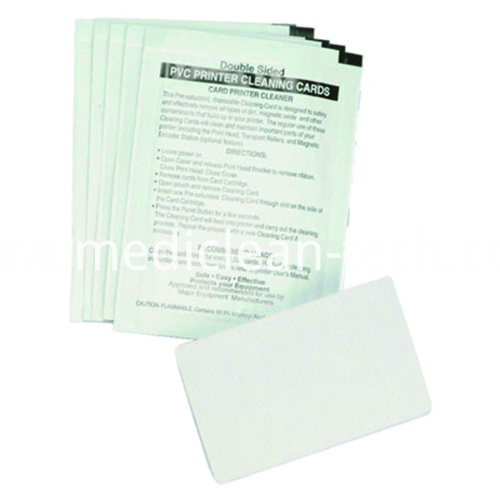 Magicard 601100 Magicard Card Printer Cleaning Kit Including 50 Presaturated CR80 cards