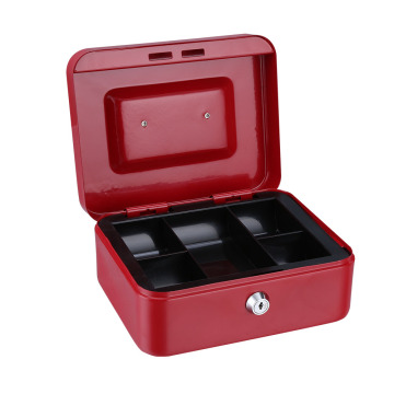 Security Petty Key Lock Box Metal Money Box