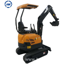 Hot sale for Excavator Machine 1.8 ton Crawler Walking Small Excavator supply to Israel Suppliers