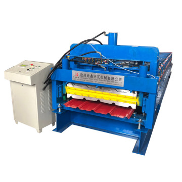 Design Double Layer Roll Former Machine