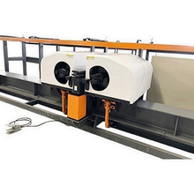 High speed steel rod bending center
