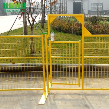 Free Sample Cheap Galvanized with PVC Temporary Fence