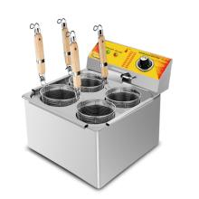 4 Baskets Commercial Electric Pasta Cooking Machine with Noodle Filter