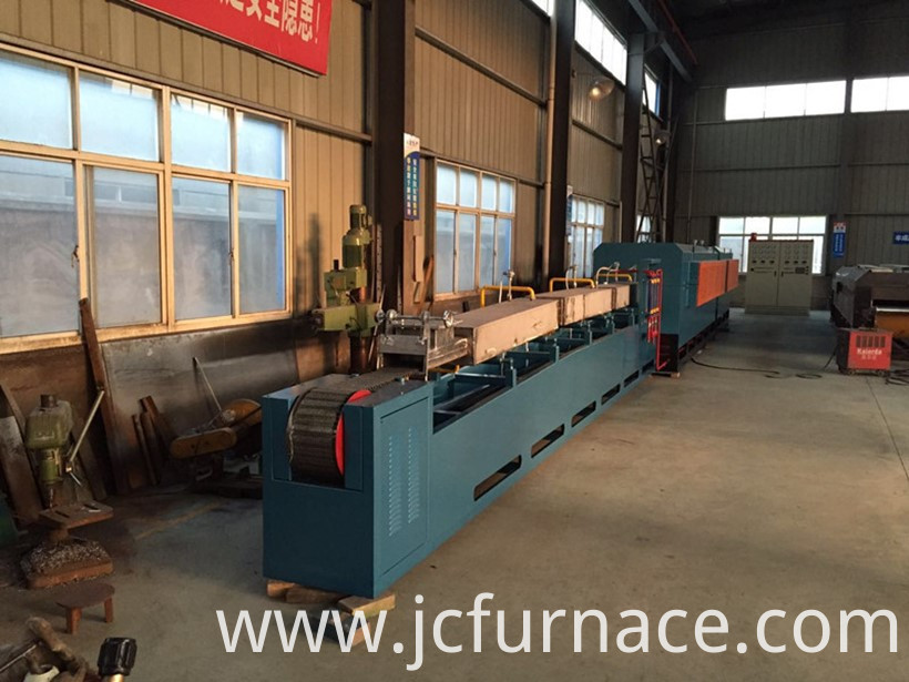 Push rod type tempering furnace show