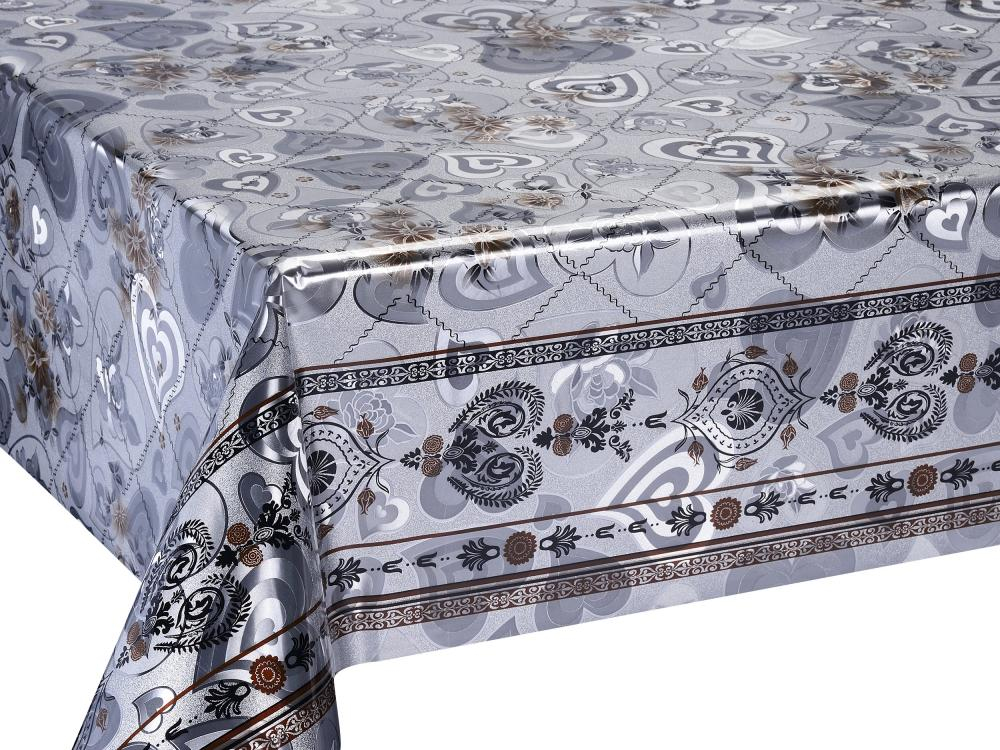 Double Face Gold Emboss Printed Tablecloth