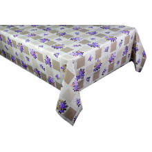 Elegant Tablecloth with Non woven backing Bending