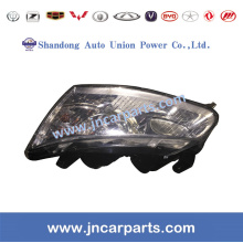 100% Original for Geely Panda Parts Geely Emgrand Parts Head Lamp L1067001211 supply to Estonia Factory