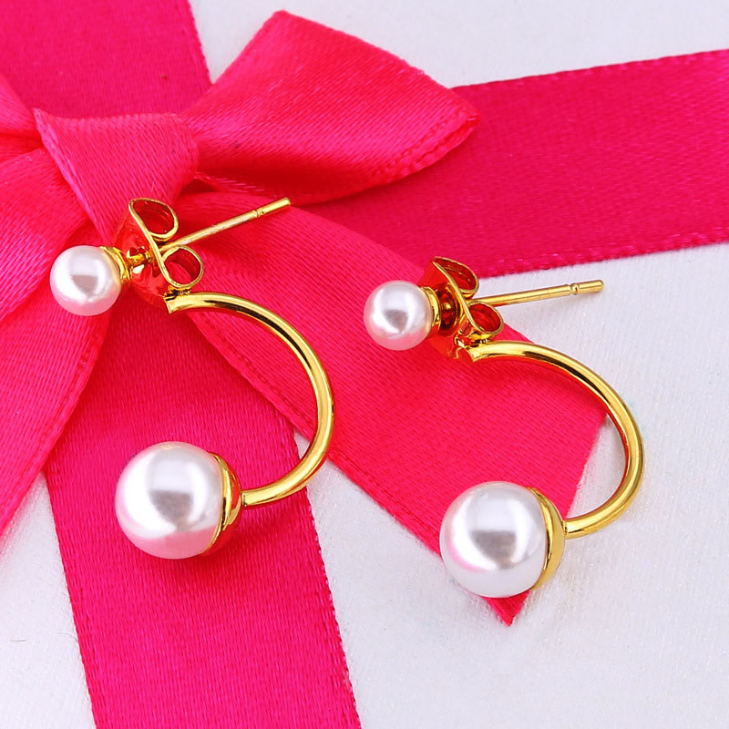 Small Pearl Stud Earrings