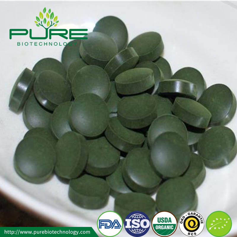 Spirulina Tablets capsules