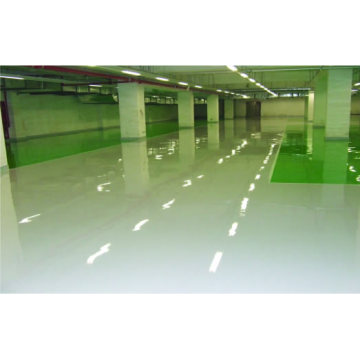 High gloss epoxy self-leveling floor