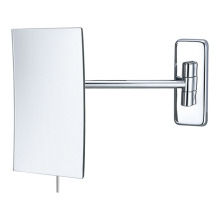 Frameless single side square wall mirror