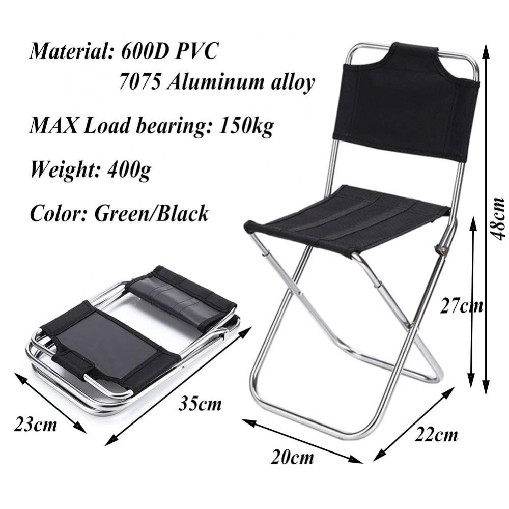 1000d Polyester Camping Chair